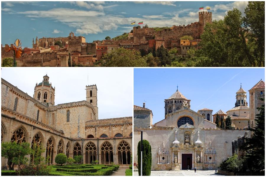 Montblanc, Poblet, Santes Creus